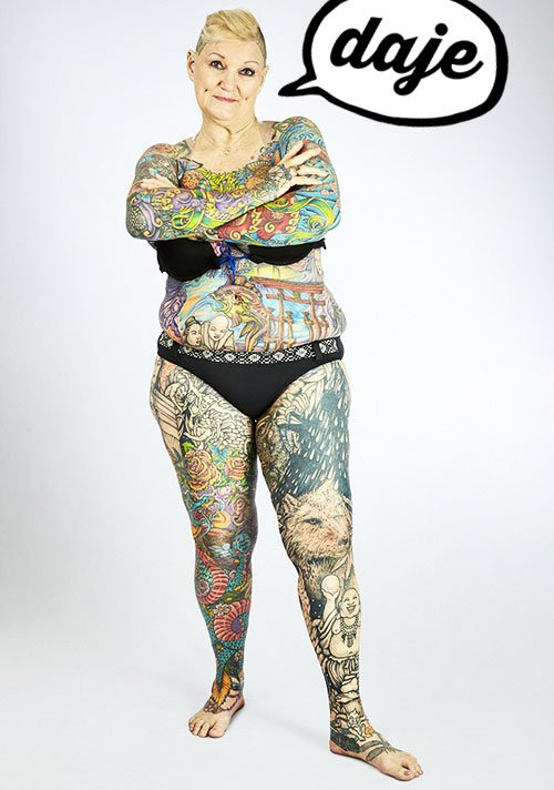 stile tattoo, personaggio tattoo