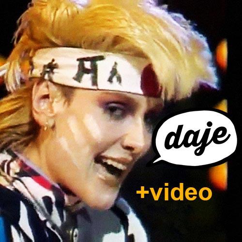 Rettore Lamette videoclip anni 80