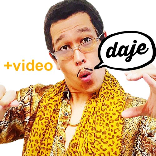 Pikotaro Pen Pineapple Apple Pen