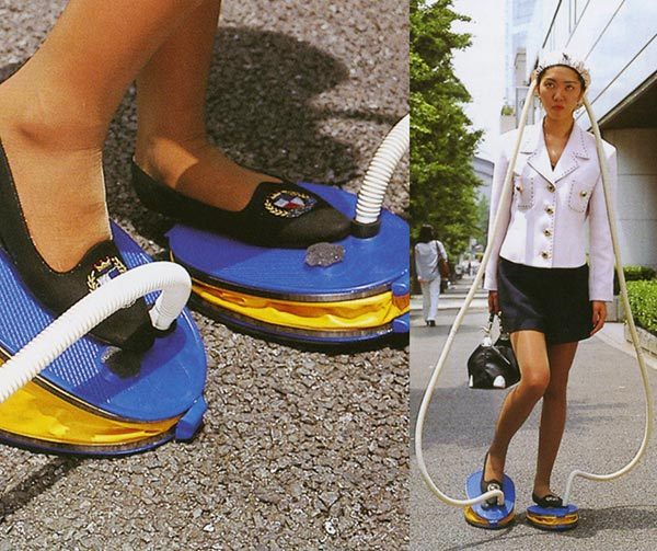 asciugacapelli-a-pedali-da-passeggio-chindogu-invenzioni-giapponesi