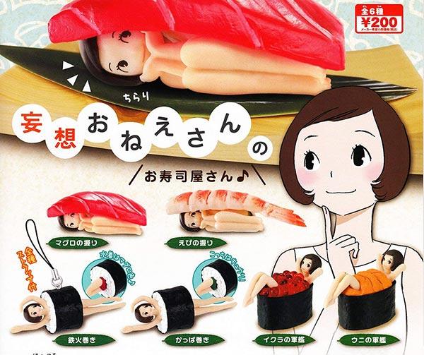 ragazze-sushi-ragazze-gamberetto-gashapon-usanze-giapponesi